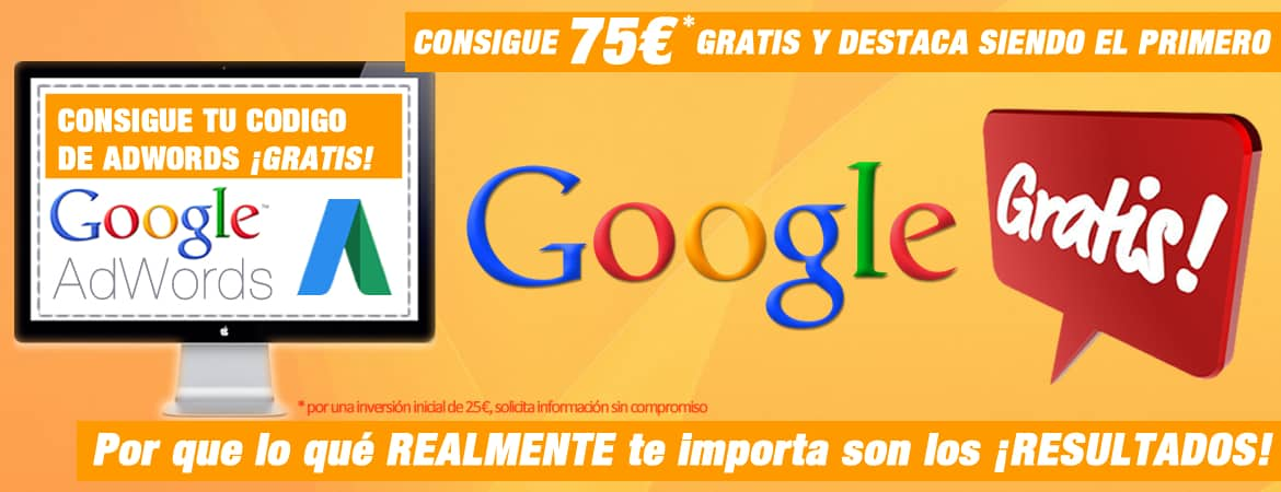 Cupon Gratis de Google AdWords