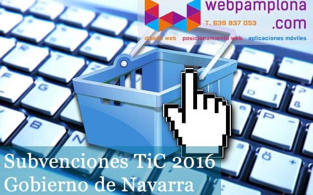 Subvenciones TiC 2016 de Gobierno de Navarra wordpress pamplona