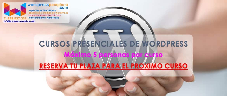 CURSOS DE WORDPRESS PRESENCIALES